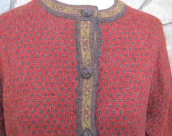 Excellent Wool Sweater- Very Urban Artsy-REDUCED FROM 28.00