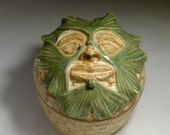 Ginkgo Leaf Face Containter