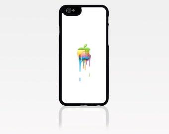 Melting Apple Logo Case Iphone 6 / 6s / 6 plus / 7 / 7 plus Phone case Plastic / Silicone Rubber