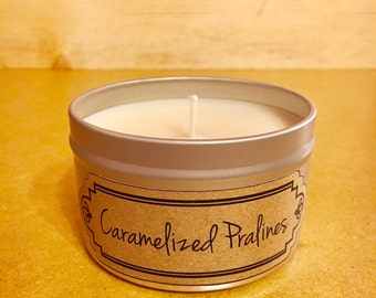 Best Soy Candle / Best Soy Candles / Caramelized Pralines / Candle / Soy Candles / Candles / Housewarming Gift / Home Decor / Birthday Gift