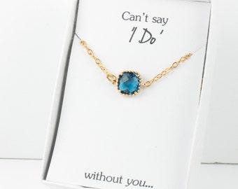Navy Gold Bracelet, Bridesmaid Navy Bracelet, Blue Gold Bracelet, Blue Wedding Accessories, Bridesmaid Jewelry