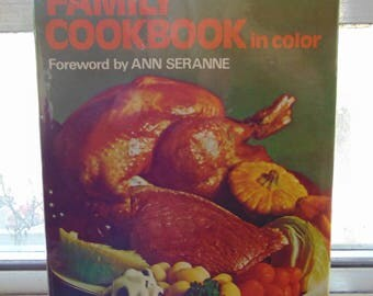 Family Cookbook in Color 1973 Marguerite Patten / Ann Seranne  OOP