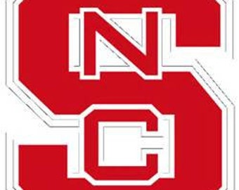 NC State Decal