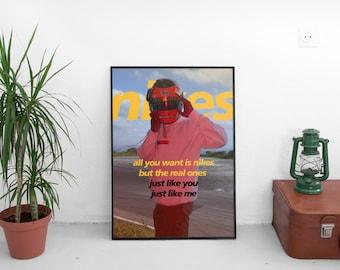 Nikes Poster - Frank Ocean (A3, A2, A1)