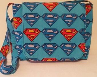 SUPERMAN Medium Messenger bag/ Shoulder Bag