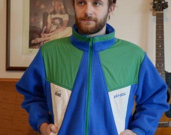 1990s Fleece Ski-Doo Jacket // SZ L