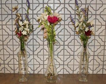 Glass Bottles/Vases