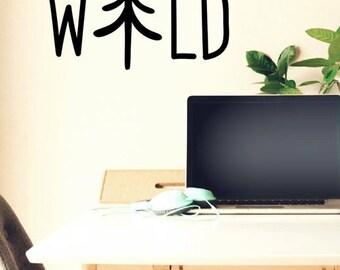 Wild Savage -Laptop, Wall, Bear Decal,Roam,Nature, Car Decals Laptop Decals, Adventure Decals, Window Decals Computer Decals, MacBook Decals