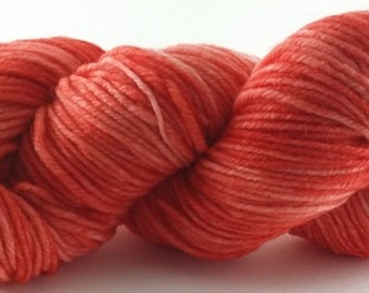 Rojo Riot - 100% Superwash Merino Wool SW Hand Dyed Worsted Weight Yarn
