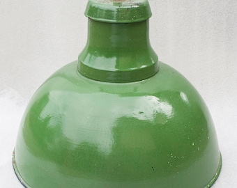 Green Enamel Pendant Light Factory Lamp Shade Lamp