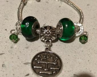 Libra's charm bracelet