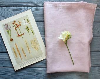 Linen Fabric, 100% Linen fabric, Pure linen fabric, Pink linen fabric, Linen Fabric by the yard, Wholesale Linen Fabric, Organic fabric