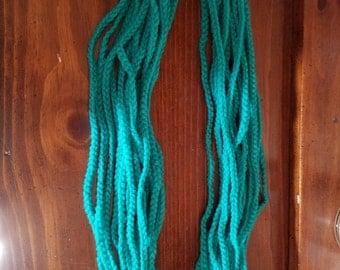 Chain stitch scarf