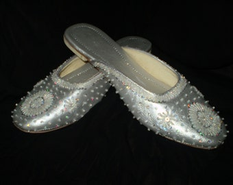 Royal Slippers Silver