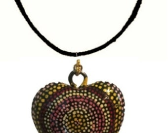 Heart Necklace- Authentic Aboriginal Art