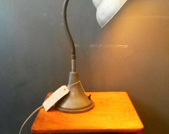A 1920s Dell Desk lamp