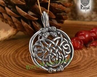 Celtic pendant Celtic knot pendant Snake knot Celtic jewelry Norse Viking jewelry Jörmungandr pendant Dragon pendant Viking pendant