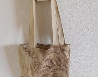 prehistoric cave art tote bag