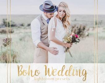 Boho wedding presets, Boho presets, Boho Wedding lightroom presets, Portrait presets, Film presets, Hipster presets, boho lightroom presets