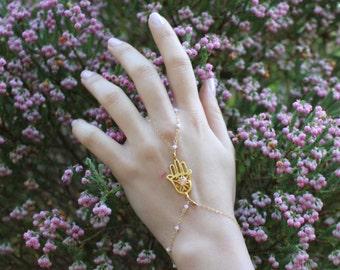 Hamsa Hand Chain