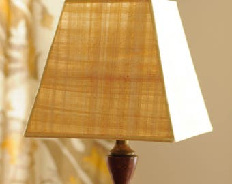 Papyrus tapered 4-sided lamp shade