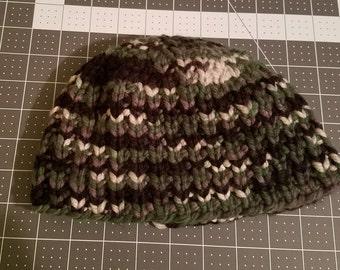 Boys Knit Ribbed Beanie
