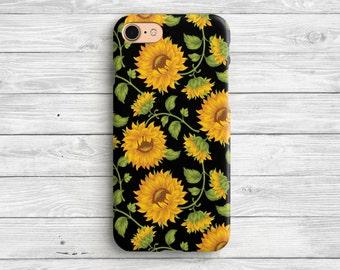 Sunflower iPhone 7 Case Sunflower iPhone 6 Case iPhone 7 Plus Sunflower iPhone Case iPhone 6s Sunflower Case iPhone 6 Plus Case