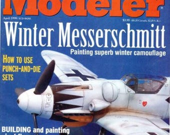 FineScale Modeler Magazine The essential tool for model April1998