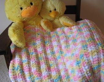 Confetti Colored Baby Blanket