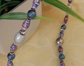 Mystic - paper Bead Necklace
