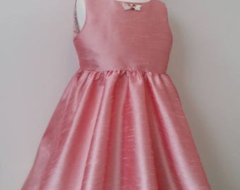 Pink party dress size 4/flower girl dress