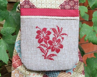 Backpack 'The flower duet'