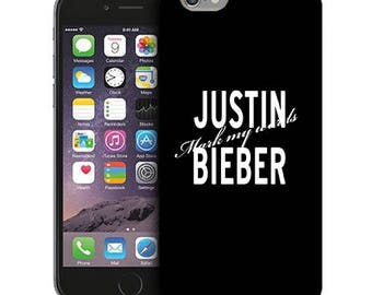 Justin Bieber Mark My Words Phone Case for iPhone Cases, iPod Touch Cases, and Samsung Galaxy Cases