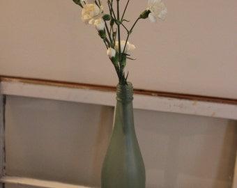 Sea Glass Wine Bottle