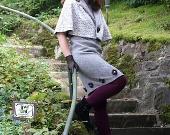 Chic set dress + Cape