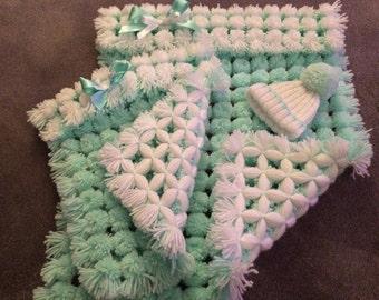 Handmade pom-pom Blankets