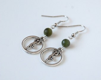 Tree Pose Yoga Earrings