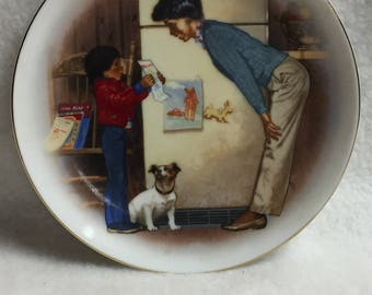 Special Memories Small Collector Plate (Mom and Son) - Creation of Love (#025)