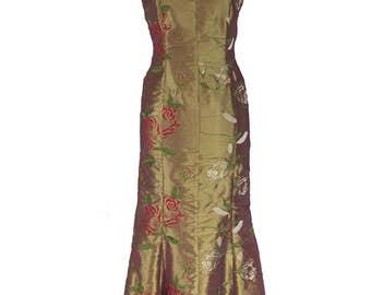 Abito lungo duchesse - Long dress duchesse - Skaracina