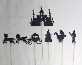 Medieval Shadow Puppets