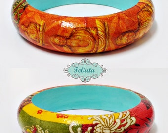 Wooden bracelet Buddha