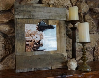 Rustic/Reclaimed Wood Picture Frame