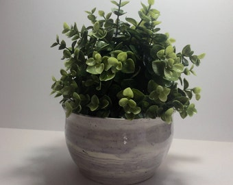 Hand made ceramic planter