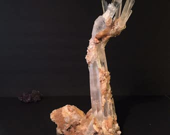 Jewelry / Mineral Display Crystal Arm Sculpture