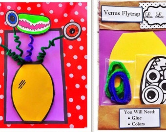 Grab-n-Go Venus Flytrap Activity Kit for Kids
