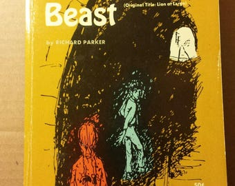 1969 The Midnight Beast by Richard Parker 1st Edition