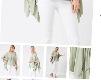 Jade butterfly sleeves