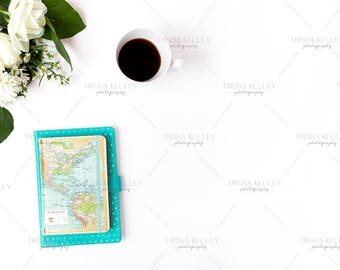 SET OF TWO: Map Notebook and Coffee