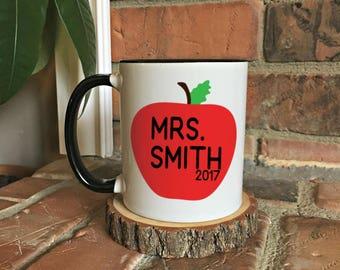Teacher Gift, Teacher Mug, Personalized Teacher Mug, Teacher Appreciation, Gift for Teacher, Teacher, Personalized Gift