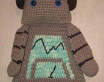 Crochet rag doll Robot